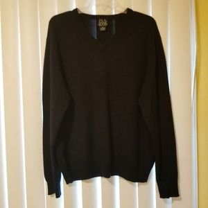 Jos. A. Bank  Travelers Collection Black Sweater